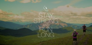 Stay Strong and Run Long Wallpaper