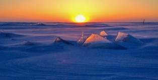 Sunrise on Lake Winnipeg